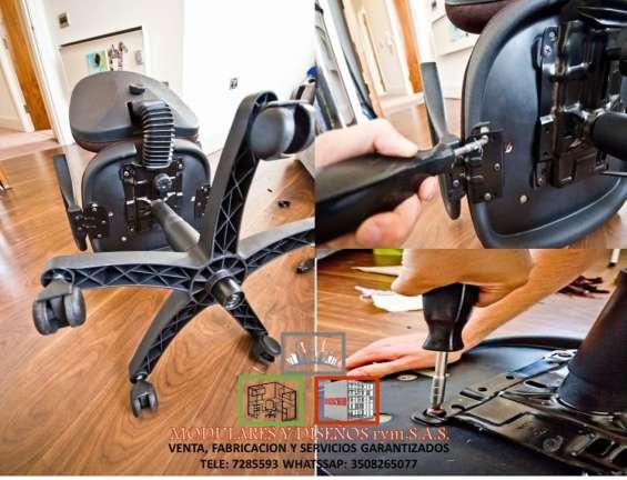 Cambio de ruedas de sillas