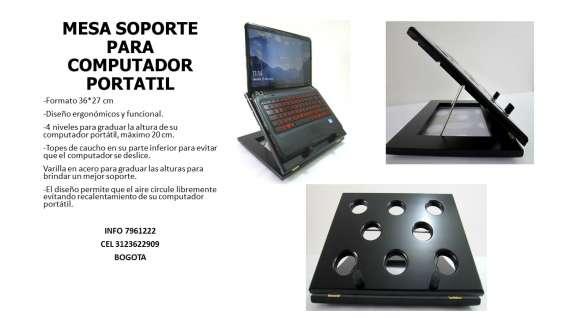 Mesa para computador portatil