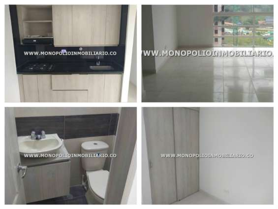 Apartamento en arriendo - maria auxiliadora sabaneta cod: 11514
