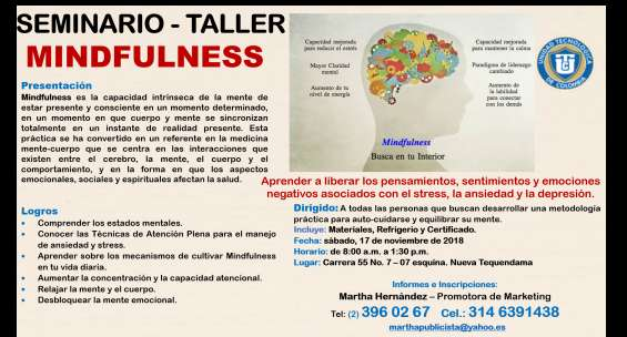 Seminario - taller mindfulness