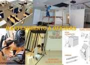 Reformas muebles de oficina