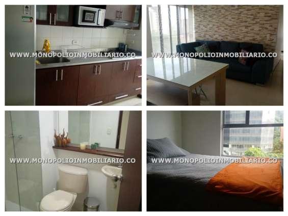 Apartamento amoblado para la renta en medellin - el poblado cod.8046
