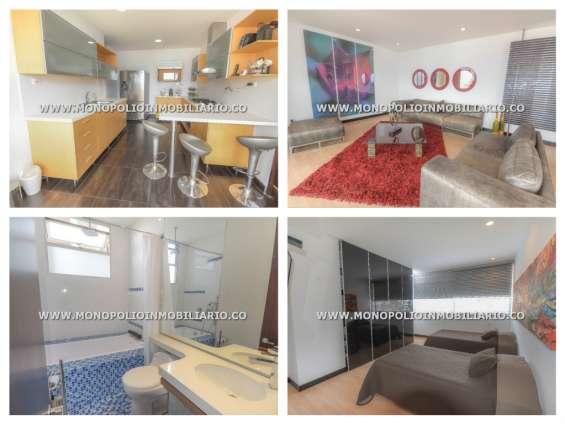 Apartamento amoblado para la renta en medellin el poblado cod 8544