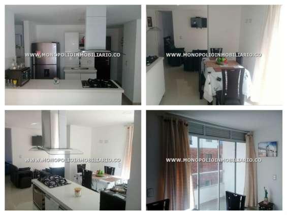 Apartamento amoblado para la renta en sabaneta sector aves marias cod 8262