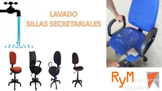 Lavado de sillas ergonomicas.