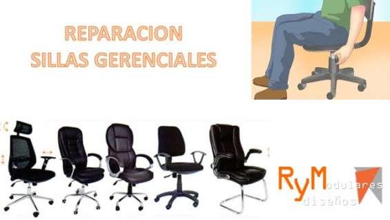 Tapizado de sillas gerenciales.